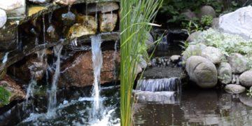 Koi Pond Waterfall Ideas