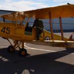 De Havilland Tiger Moth biplane